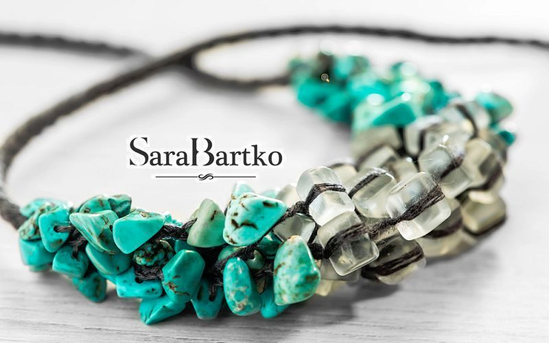 SARABARTKO JEWELS FRANCE Collier Bijouterie En marge de la Déco  |