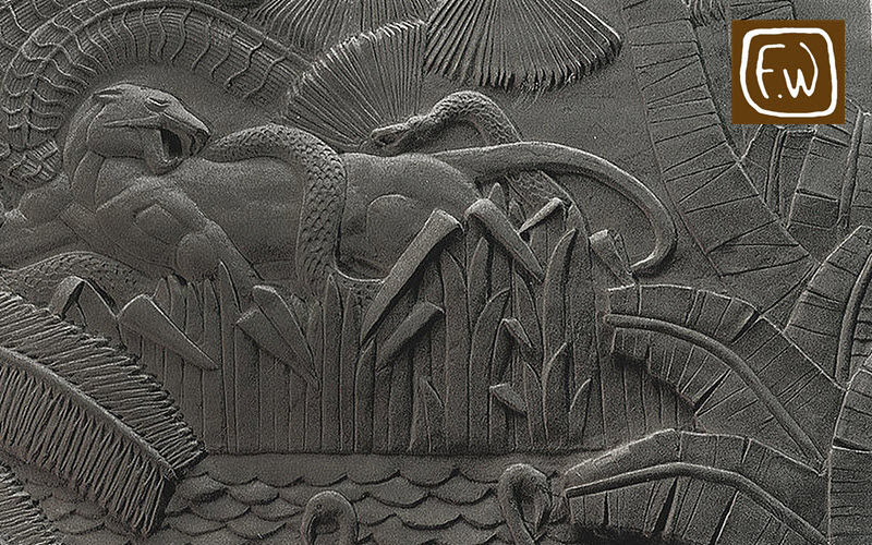 FREDERIQUE WHITTLE Bas relief Architecture Ornements  |