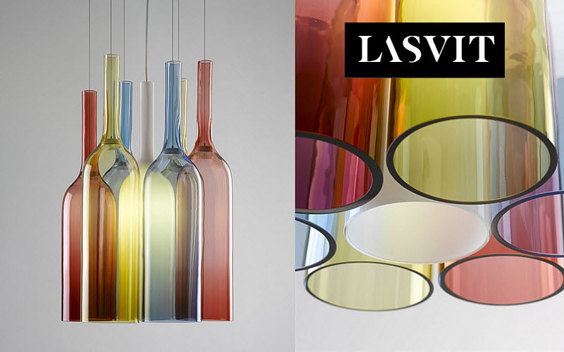 LASVIT Suspension Lustres & Suspensions Luminaires Intérieur  | Design Contemporain