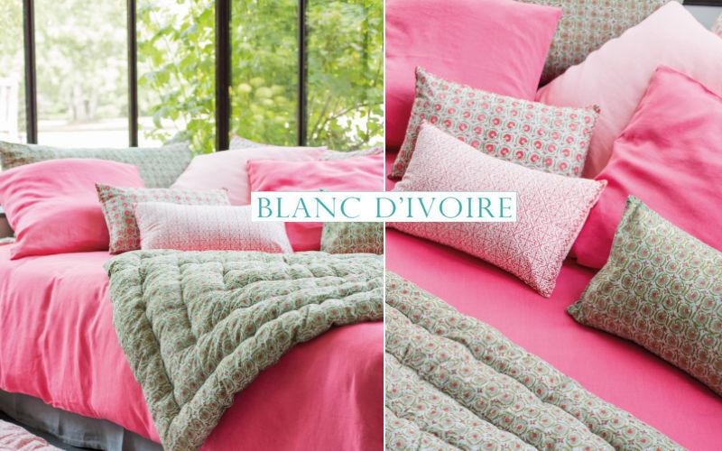 BLANC D'IVOIRE Edredon Couvre-lits Linge de Maison  |