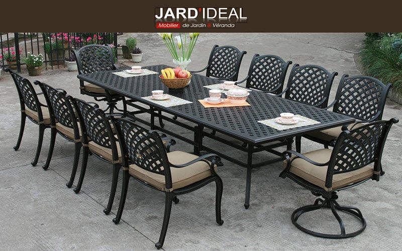 JARD'IDEAL Salle à manger de jardin Tables de jardin Jardin Mobilier  |