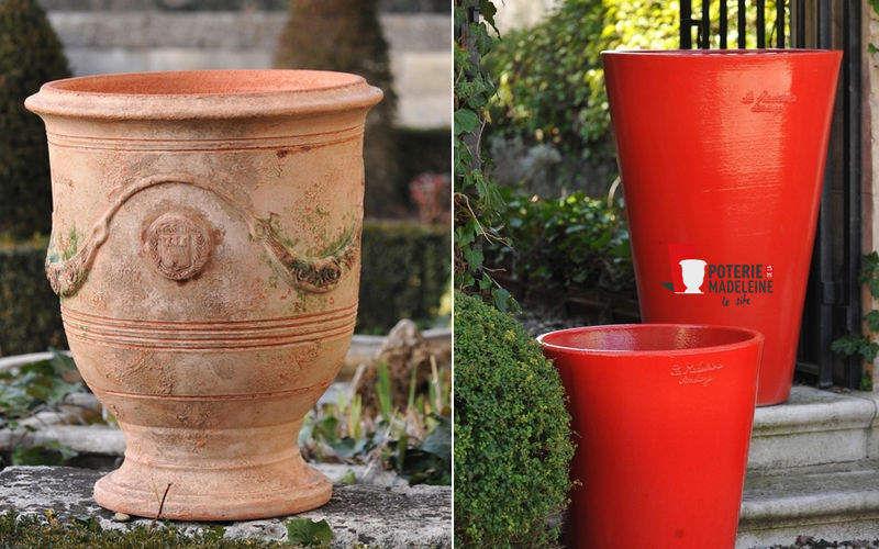 Poterie de La Madeleine Vase d'Anduze Pots de jardin Jardin Bacs Pots  |
