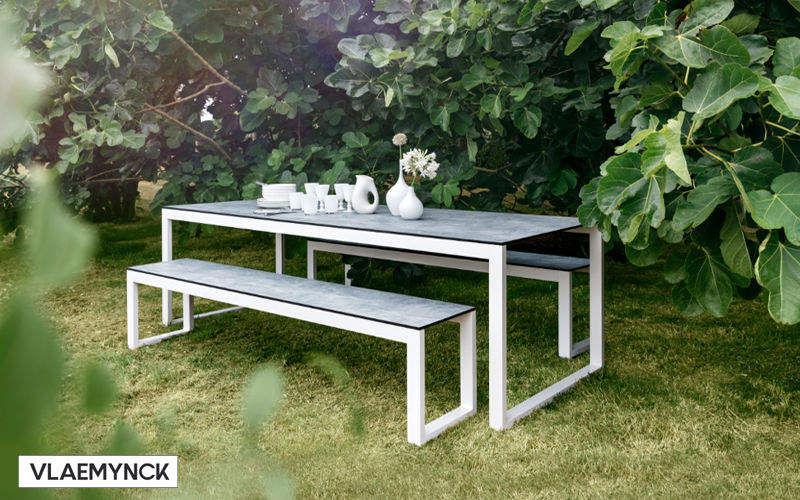Roland Vlaemynck Table de jardin Tables de jardin Jardin Mobilier  |