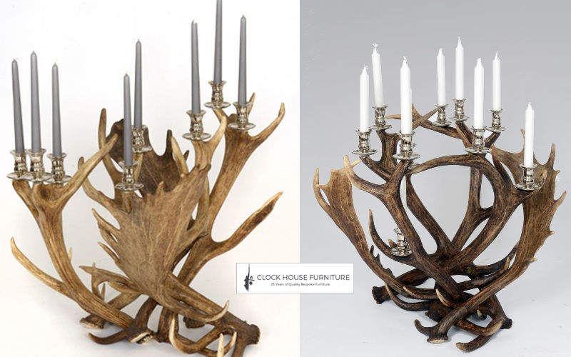 Clock House Furniture Candélabre Bougies Bougeoirs Objets décoratifs  |