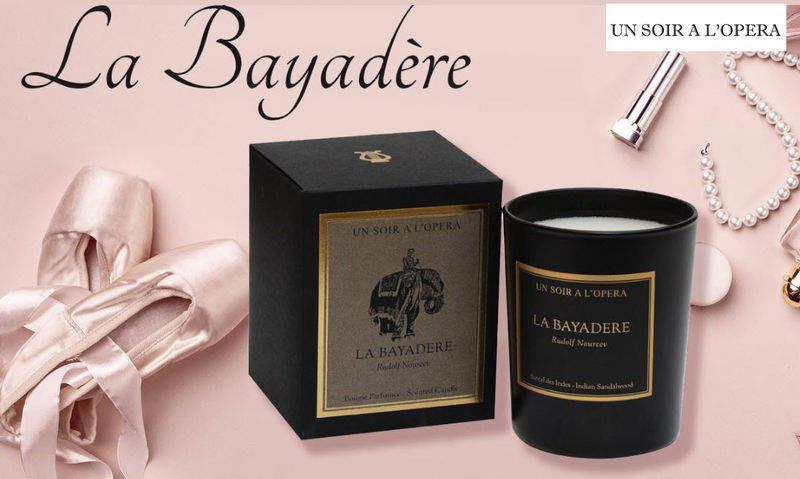 UN SOIR A L'OPERA Bougie parfumée Bougies Bougeoirs Objets décoratifs  |