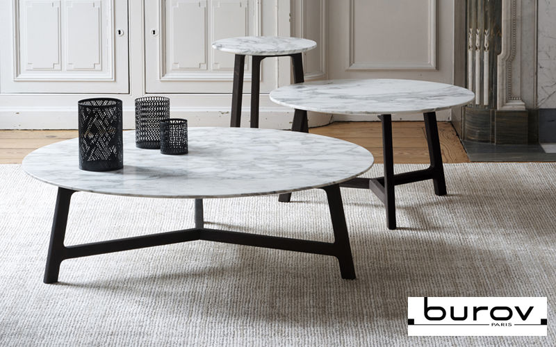 Burov Table basse ronde Tables basses Tables & divers  |