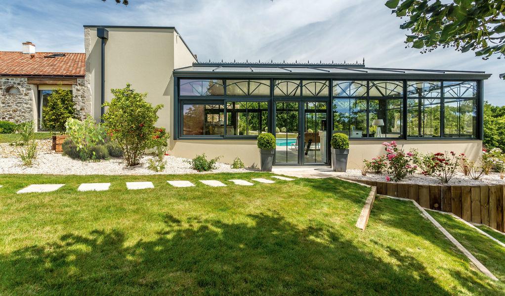 Renoval Veranda de piscine Verandas Jardin Abris Portails... Jardin-Piscine | Classique