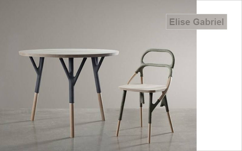 ELISE GABRIEL Table de repas ronde Tables de repas Tables & divers  |