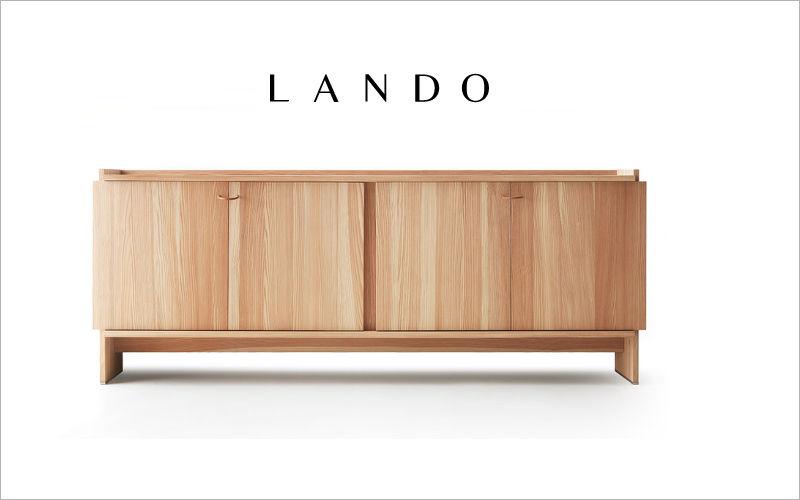 LANDO Crédence Bahuts Buffets Meubles de salon Rangements  |