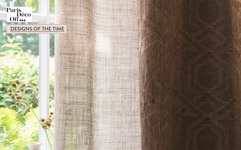DESIGNS OF THE TIME Voilage Voilages Tissus Rideaux Passementerie   