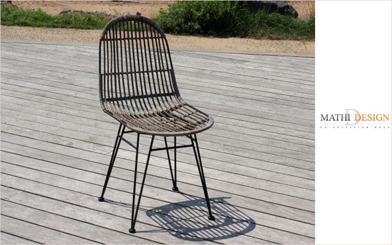Mathi Design Chaise de jardin Chaises de jardin Jardin Mobilier  |
