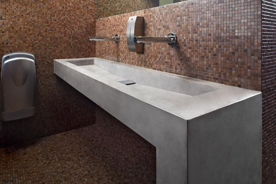 IDEAL WORK Lavabo collectif Vasques et lavabos Bain Sanitaires  |