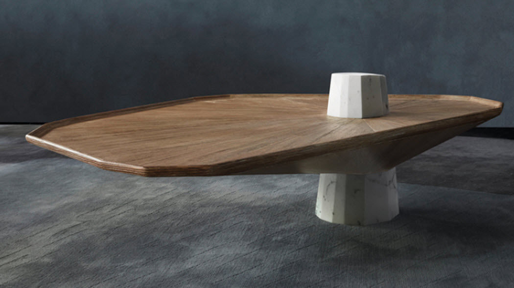 FABRICE AUSSET Table basse forme originale Tables basses Tables & divers  |