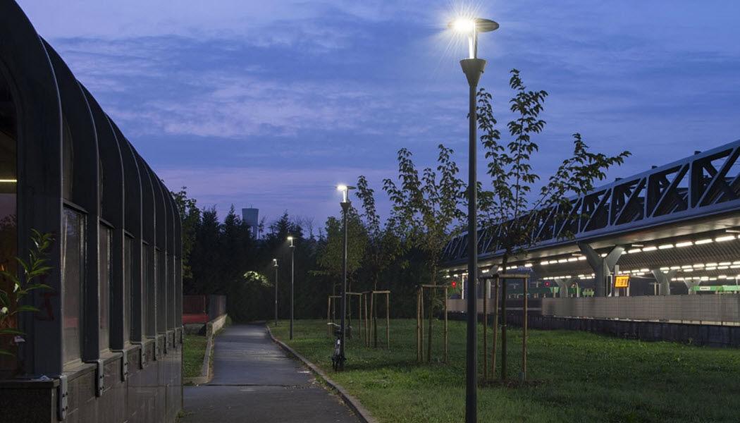 CARIBONI Réverbère Réverbères lampadaires Luminaires Extérieur  |