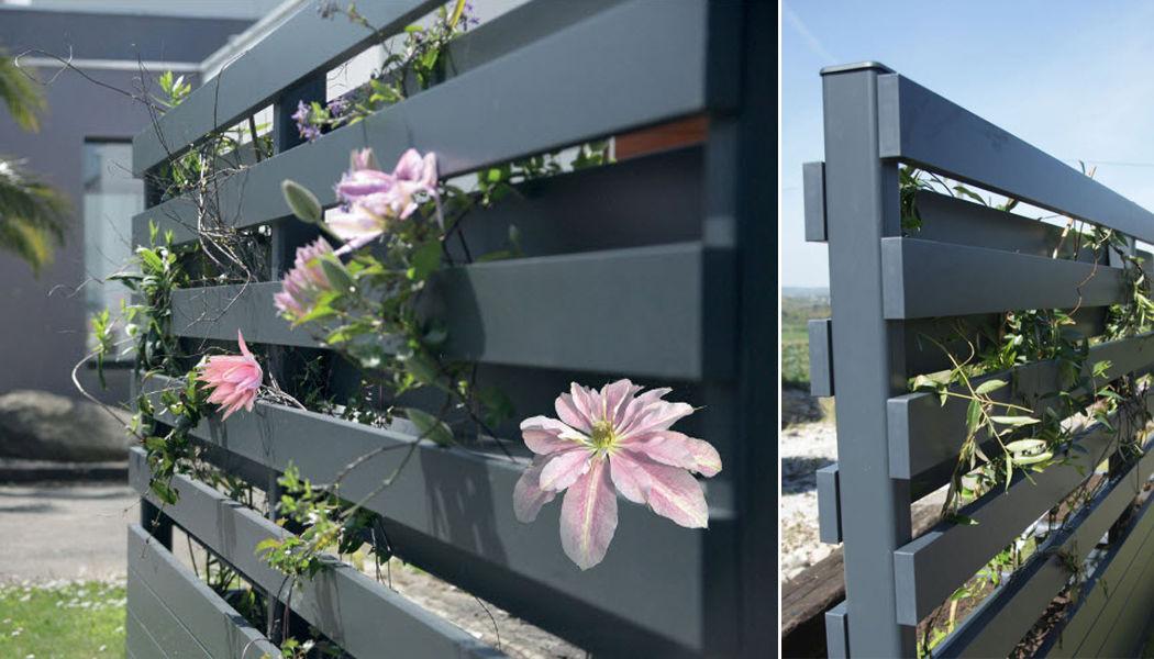 Cadiou Clôture ajourée Clôtures Bordures Jardin Abris Portails... Jardin-Piscine | Design Contemporain