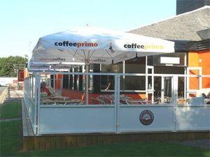 M. & D. Gee Ecran de terrasse de cafe