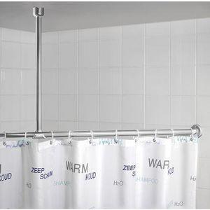 Manusec Barre de rideaux de douche