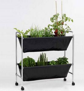 Leopoldo Group Design Porte-plantes sur roulettes