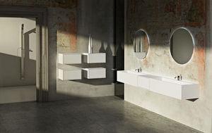 Gb Group Rangement mobile salle de bains