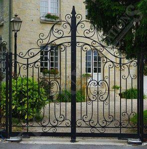 Portail de jardin-Reignoux Creations