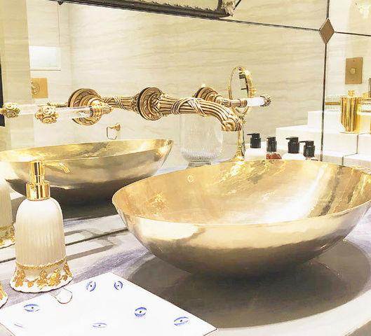 Mélangeur lavabo 3 trous-Volevatch-Marie-Antoinette--