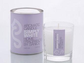 SANICO - simply white - Bougie Parfum�e