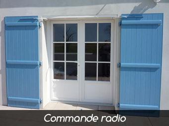 Wimove - wibat linteau recoupable commande radio 2 vantaux - Automatisme Et Motorisation Pour Volet