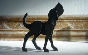 SYLVIE DELORME - ménagerie - Sculpture Animalière