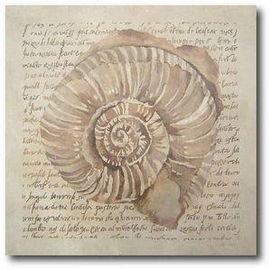 DEFACTO DÉCO - tableau décoratif fossile 2 - Tableau Décoratif