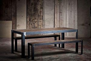 ADRIAN DUCERF - knock - Table De Repas Rectangulaire