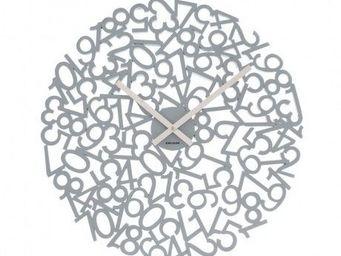 Karlsson Clocks - karlsson - horloge mixed �? 48 cm - karlsson - gri - Horloge Murale