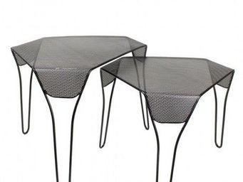 Coming B - comingb - table basse nid d'abeille - comingb - n - Table Basse Forme Originale
