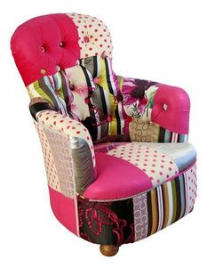 KELLY SWALLOW - pink princess - Fauteuil Crapaud