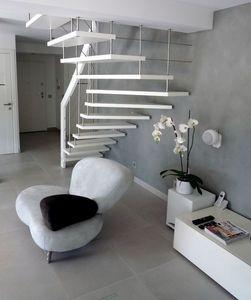 Cr�ateurs d'Escaliers Treppenmeister -  - Escalier Suspendu