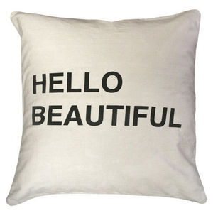 Sugarboo Designs - pillow collection - hello beautiful - Coussin Carré