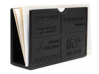 Manta Design - porte-enveloppes design black - Bac � Courrier
