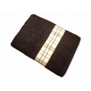 CLARA LINGE - serviette éponge noire claraberry 520 gr - Serviette De Toilette