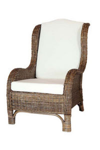 ROTIN DESIGN - fauteuil nassau - Fauteuil De Jardin