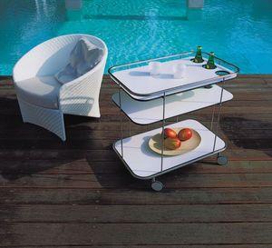 Bonacina Pierantonio - circus03 - Table Roulante De Jardin