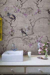 WALL & DECO - hanamachi - Papier Peint Salle De Bains