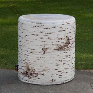 MEROWINGS - birch seat outdoor - Tabouret