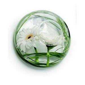 Tung Design - vase soliflore en verre mural gm - Vase À Fleurs