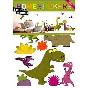 Nouvelles Images - stickers adh�sif dinosaures nouvelles images - Sticker
