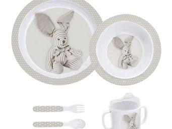 Mathilde M - mon premier coffret repas lapin - Assiette Enfant
