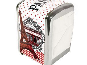 Orval Creations - distributeur de serviettes bistro de paris - Distributeur De Serviettes En Papier