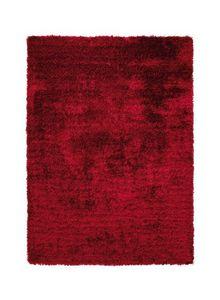 ESPRIT - tapis de salon new glamour rouge 170x240 en acryli - Tapis Contemporain