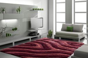 NAZAR - tapis avantgarde 120x170 pink - Tapis Contemporain