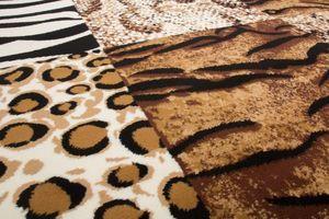 NAZAR - tapis contempo 60x110 beige - Tapis Contemporain