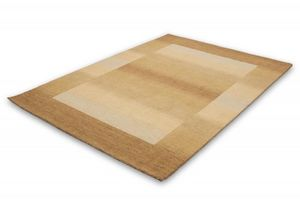 NAZAR - tapis gabbeh 70x140 beige - Tapis Contemporain