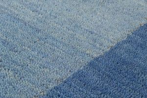 NAZAR - tapis gabbeh 160x230 blue - Tapis Contemporain
